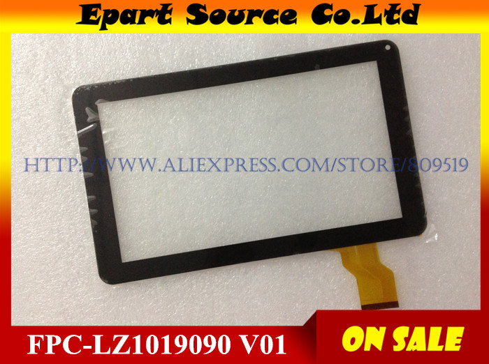 A+  cheap 10pcs/lot 9inch touchscreen  touch panel digitizer glass for tablet FPC-LZ1019090 V01 free shipping cheap 7inch touchscreen touch panel digitizer glass for tablet mglctp 70838 70891 fpc