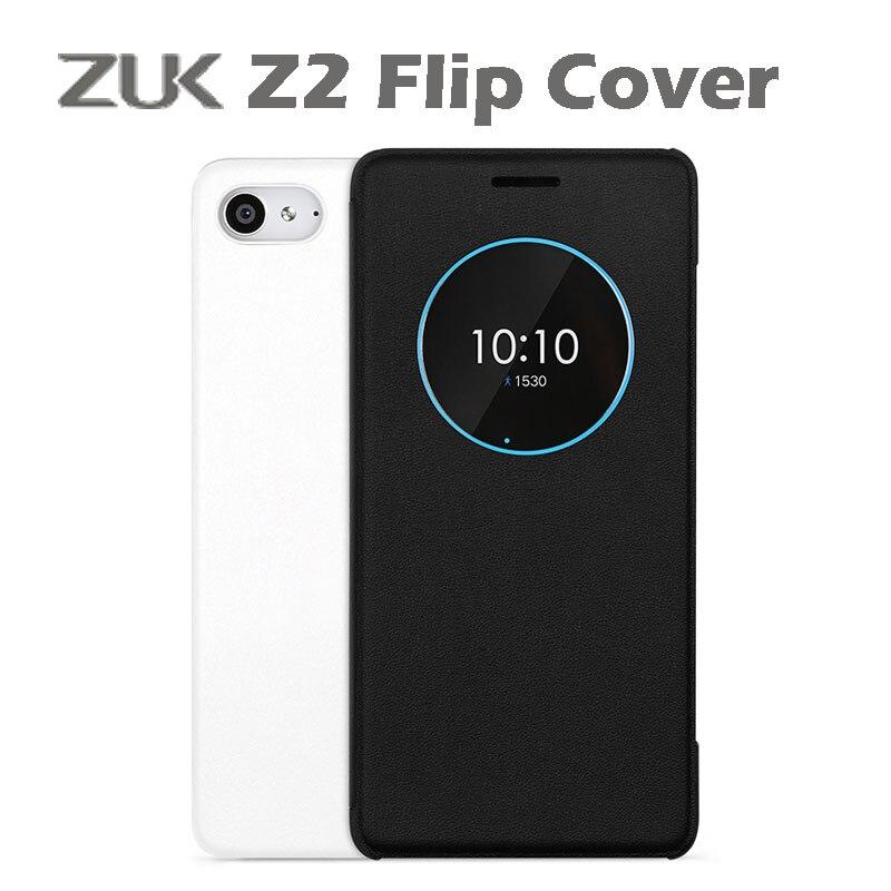 original Lenovo ZUK Z2 Flip case Cover auto wake up for ZUK Z2 smart leather Flip Cover PC Without Retail Box