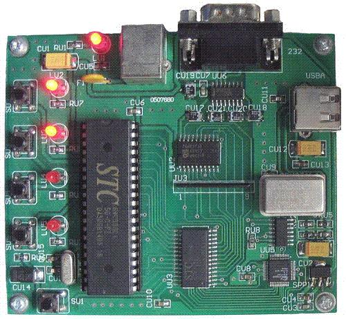 USB development board - based on SL811HST 51 MCU read and write U disk development boardUSB development board - based on SL811HST 51 MCU read and write U disk development board