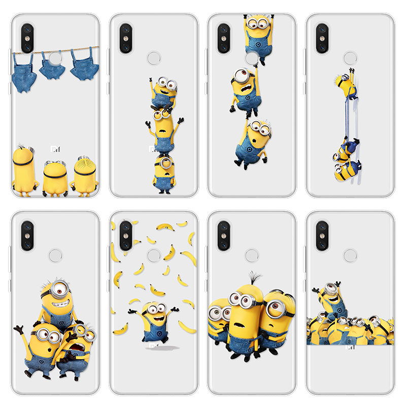Funda Banana-Cover Cartoon-Case Explorer Play Pocophone F1 Xiaomi Redmi 5S A2 For Mi-9