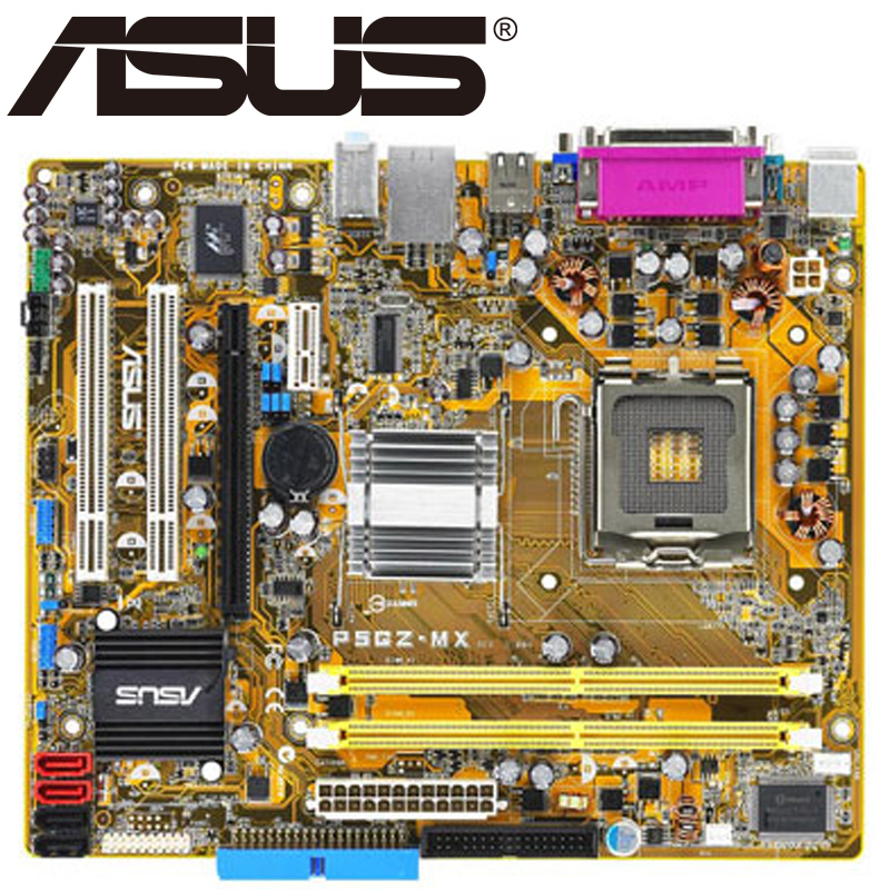 Asus P5GZ MX Desktop Motherboard 945GZ Socket LGA For 775