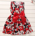 Retail children's clothing girls summer 2017 new children clothes baby girl dresses sleeveless A-line dress 1-6 years old