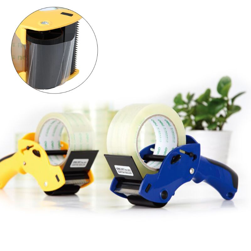 Tape Cutter Dispenser Manual Sealing Device Baler Carton Sealer Width 6cm/2.36in Packager Cutting Machine Easy To Operate