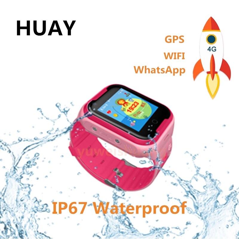 Kids GPS tracker watch 4G smart watches GPS LBS WIFI location SOS call SCREEN 1.44' Camera WhatsApp Wechat children clock Q403