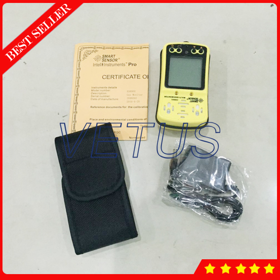 AS8900 portable multi Gas Analyzer with 4 in 1 gas detector