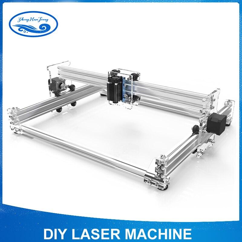 15 w grande potenza del laser macchina di cnc, area di lavoro 30 cm x 38 cm, desktop FAI DA TE Viola Laser Macchina Per Incidere Immagine Stampante CNC