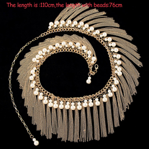 Image 1 - Girls wholesale beads belt women dance Jewellery beads belly dance clothes  fashion belly dance hip scarf on sale