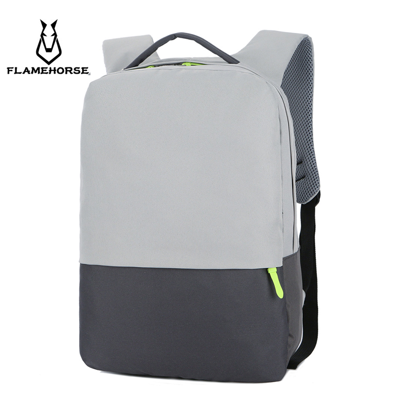 2018 New Men City Fashion Business Nylon Laptop Backpack Burglarproof Waterproof Youth School Travel Schoolbag new men business waterproof travel backpack women fashion college schoolbag male leisure nylon 15 6inch laptop notebook bags