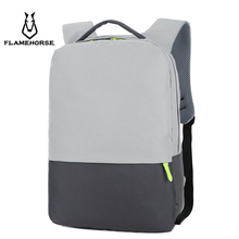 2019 New Men City Fashion Business Nylon Laptop Backpack Burglarproof Waterproof Youth School Travel Schoolbag