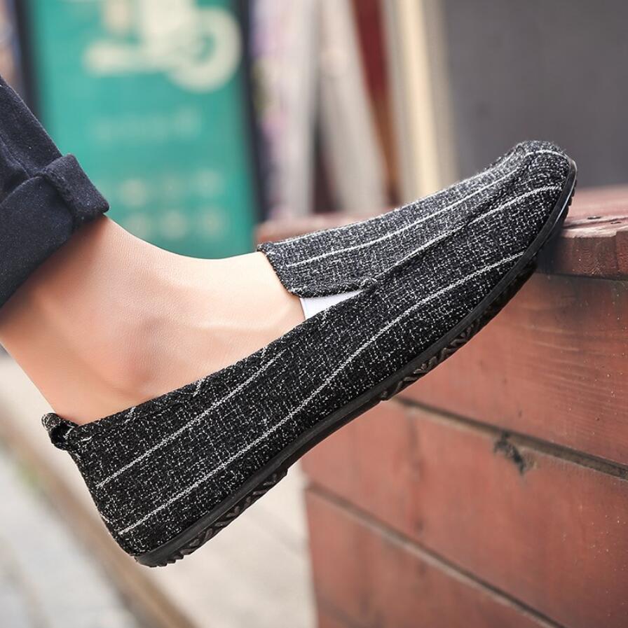 black 2019 Planos Hombres blue Zapatillas De Verano Zapatos White Casual Perezosos Cáñamo Alpargatas Barco Ultraligeros Transpirable Diseñador Mocasines Grey rOTqr5wf