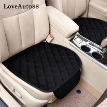 For VW Tiguan Touran Golf4 Golf 6 MK6 Golf 7 MK7 Car Seat Cushion Winter Warm Seat Pads Protector pads Seat Covers 3pcs недорого