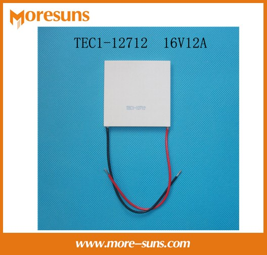 Fast Free ship 2pcs/lot TEC1- 12712 16V12A 62*62mm semiconductor Thermoelectric Cooler Peltier fast free ship 1set contains 2pcs for atmega16 nrf905 cc1100 nrf24l01 nrf2401a wireless development board