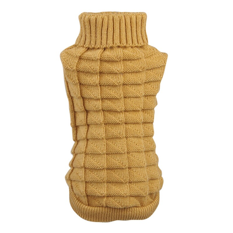 Pet dog sweater for autumn winter wholesale warm knitting crochet Dog clothes chihuahua Teddy