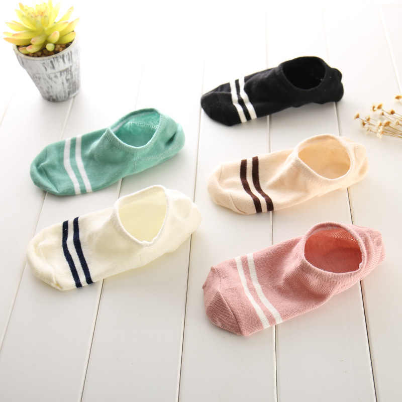 Epous clássico listrado algodão curto meias femininas verão fino tornozelo meias arte meias engraçadas macio casual moda barato sox