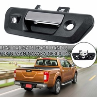 90606 4JG0C tailgate handle back door handle camera type fits For Nissan Navara NP300 2014 2015 2016 2017+ 1PC black with chrome