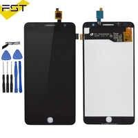 Panel táctil para Alcatel One Touch Pop Star 3G OT5022 OT 5022 OT-5022 5022X 5022D, pantalla LCD, ensamblaje completo