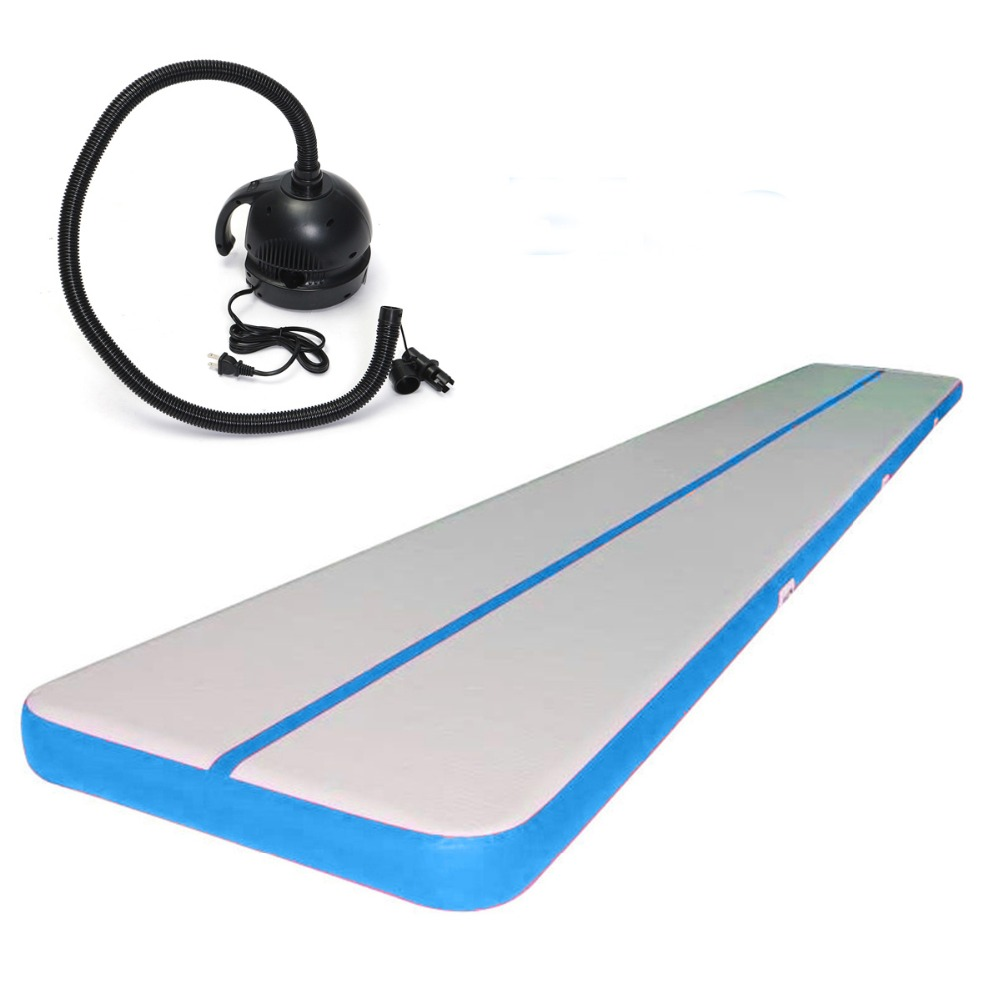 Free Pump Inflatable Jumping Mat Drop Stitch Material Gymnastics Mat For Sale Home Use 3M/4M/5M Inflatable Air Track Low PriceFree Pump Inflatable Jumping Mat Drop Stitch Material Gymnastics Mat For Sale Home Use 3M/4M/5M Inflatable Air Track Low Price