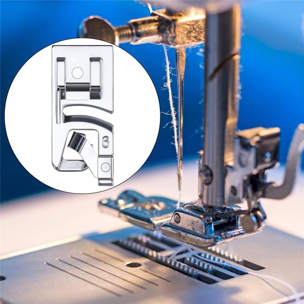 3 шт. Лидер продаж домашняя швейная машина лапка свернутый подол ноги набор для Brother Singer Швейные аксессуары# F