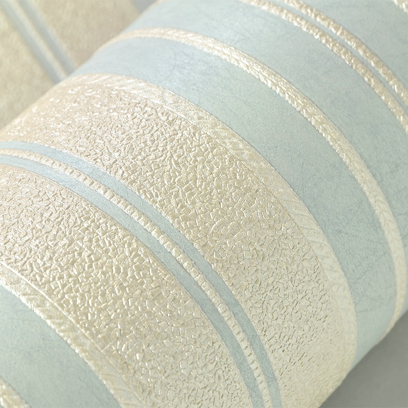 Modern Simple Silk Non-woven Vertical Striped Wallpaper 3D Embossed Moisture-Proof Wall Papers Home Decor Living Room Wallpaper