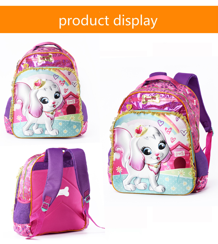 Crianças escola primária sacos para meninas crianças