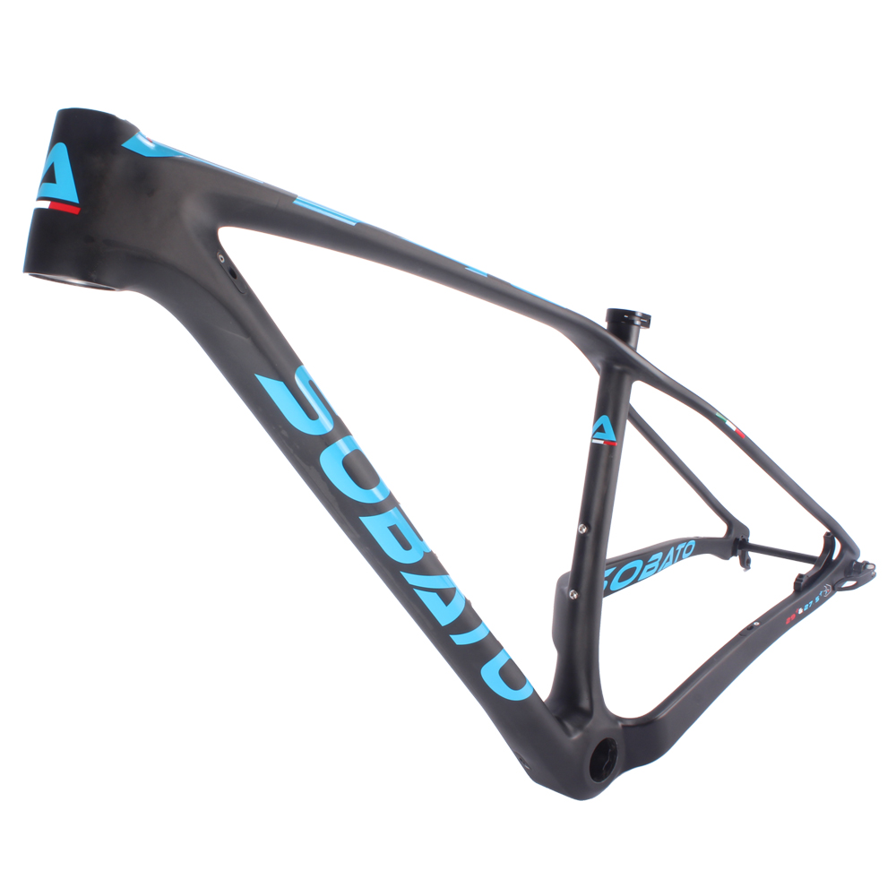 27.5er Chinese bike carbon frame ,single speed thru-axle 29er MTB bicycle carbon frame for fat tire 3.0 2018 free ship carbon fat bike frame with fork 26er bsa carbon snow bike frameset carbon fat bike frame fork thru axle shafter