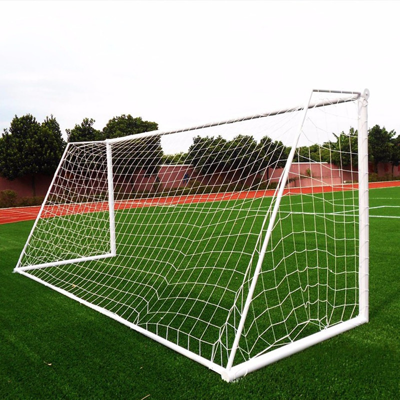 8 X 24FT Football Soccer Nets Portable Ball Games Nets Knotted Nets Outdoor Sport Training Practice Equipment Excluded Goal Gate