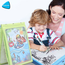HUAILE Children Magic Water Drawing Book su 1 Magic Pen Cartoon Animal spalvinimo knygelė Kids Water Painting Board