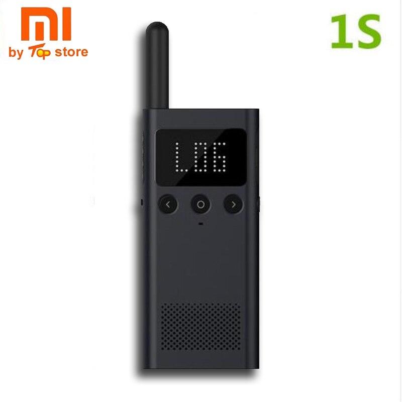 Original Xiaomi Mijia Smart Smart Walkie Talkie 1S with FM Radio Speaker Standby smart phone APP