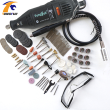 Dremel Style MultiPro Drill Carving Pen Soft Shaft Accessories 75pcs Polishing Top 30pcs Burs-level Kits Factory price