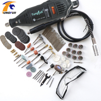 DREMEL MultiPro Drill Carving Pen Soft Shaft Accessories 161pcs Polishing Top Level Kits Goggles 30pcs Grinding