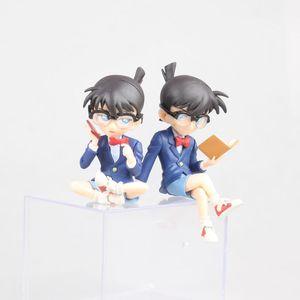 Image 5 - Figuras de acción de Kudou Shinichi, modelo de anime clásico japonés de 7,5 12,5 cm, carcasa de Detective Conan, libro cerrado/teléfono/figura de acción de pie ver