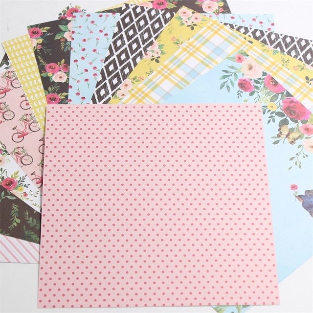 Ypp Craft 12pcs 6 Single Side Printed The Meaning Of Love Pattern