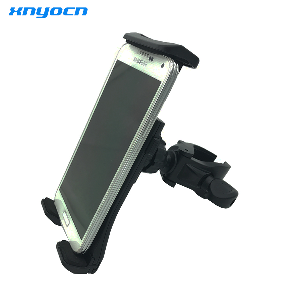 universal bicycle handle tablet phone holder motorcycle holder handle car mount holder cradle for ipad 711 inches samsung s8 - Tablet Mount