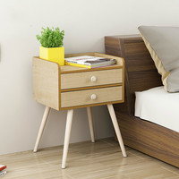 Bedstand simple modern small cabinets simple lockers nightstand mini bedroom accommodation Nordic LM01041617