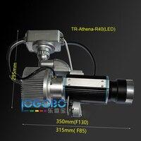 Яркий 40 Вт Led гобо проектор дешевые пользовательские перемещение дерева гобо сценический эффект освещения Реклама логотип лампа проектора