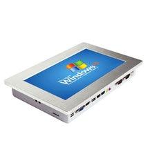 "Fabrika mağaza 10.1 ""endüstriyel Panel PC ile IPS dokunmatik ekran Win10 Linux OS 2GB RAM 64G SSD endüstriyel Tablet bilgisayar"