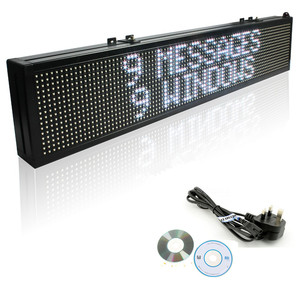 Image 4 - 40inch WIFI Full Color 7 color RGB SMD LED Signs Remote Storefront Message Board,Open Sign Programmable Scrolling Display screen