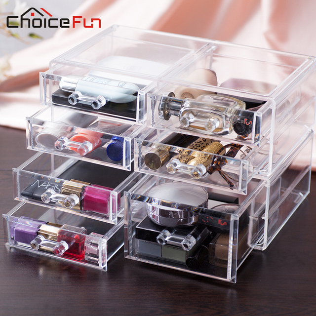 CHOICE FUN New Fashion 5 Drawers Jewelry Display Jewelry Organizer