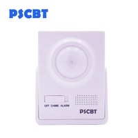 PSCBT Wireless PIR Motion Sensor Doorbell Detect Burglar Alarm Door bell Alert Store Entry Chime