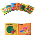 6 Styles Soft Cloth Books for Baby Boys Girls Rustle Sound Infant Educational Stroller Rattle Toys For Newborn Baby 0-12 month