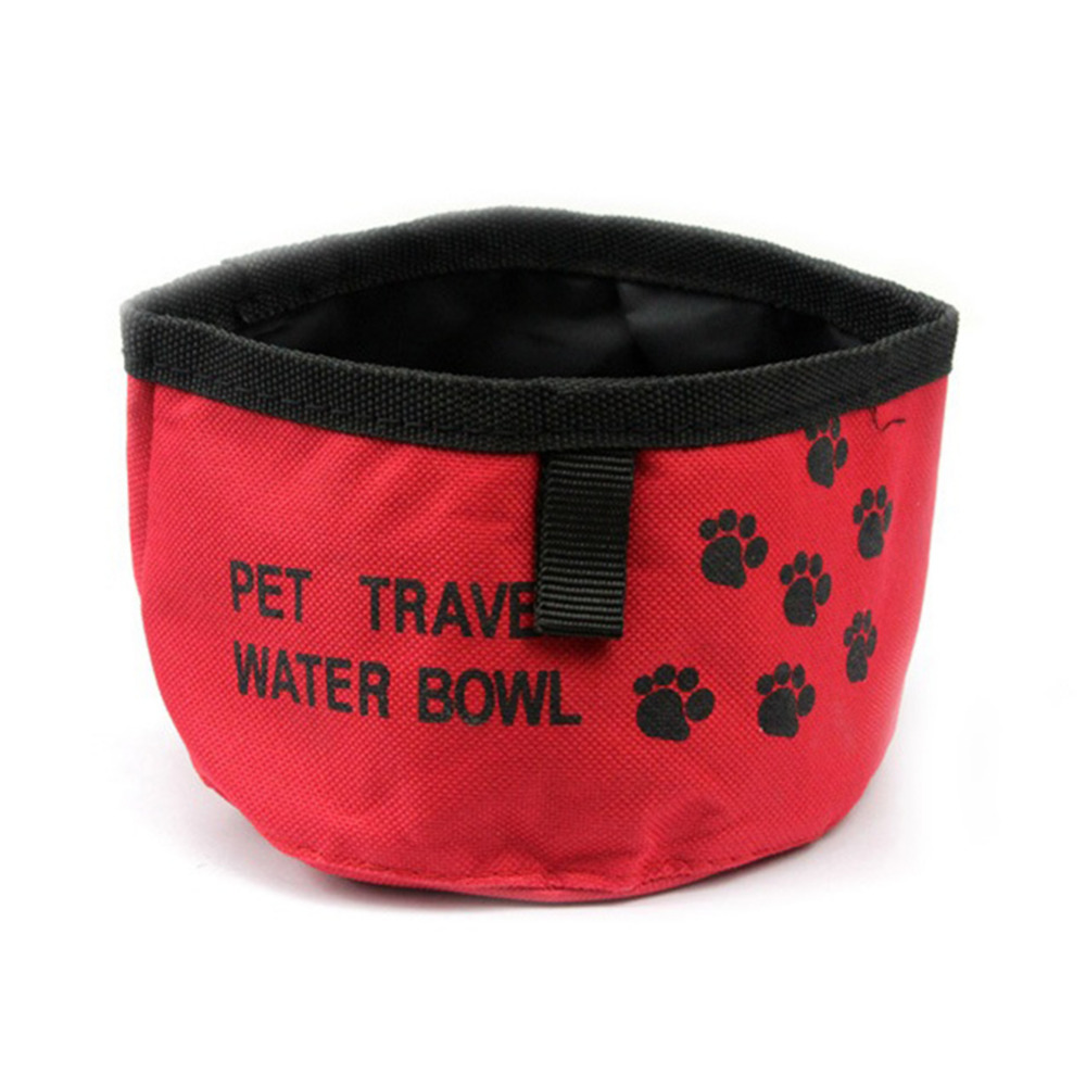 Folding Collapsible Travel Pet Dog Cat Puppy Food Water