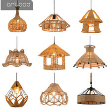 Artpad Industrial Vintage Pendant Lights Retro Lamp Edison LED Handmade Hemp Rope Pendant Light Restaurant Coffee Shop Bar Decor vintage creative pendant lamp hemp rope iron lampshade shop coffee house pendant lights bar e27 110 240v free shipping