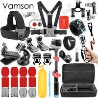 Vamson for Gopro Hero 5 4 3 Accessories Kit Set For Xiaomi yi for SJCAM SJ4000 SJ5000 VS55