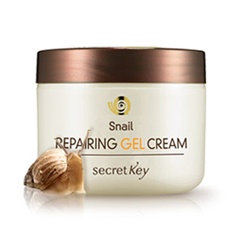 SECRET KEY Snail Repairing Gel Cream 50g Face Cream Whitening Facial Cream Day Cream Acne Treatment Anti Wrinkle Korea Cosmetics кремы secret key snail крем гель для лица с муцином улитки snail repairing gel cream