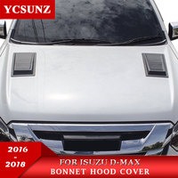 2016 2018 Bonnet Scoop Hood For ISUZU D MAX 2016 2018 Black Raptor Bonnet Hood For ISUZU D MAX 2016 2017 2018 YCSUNZ
