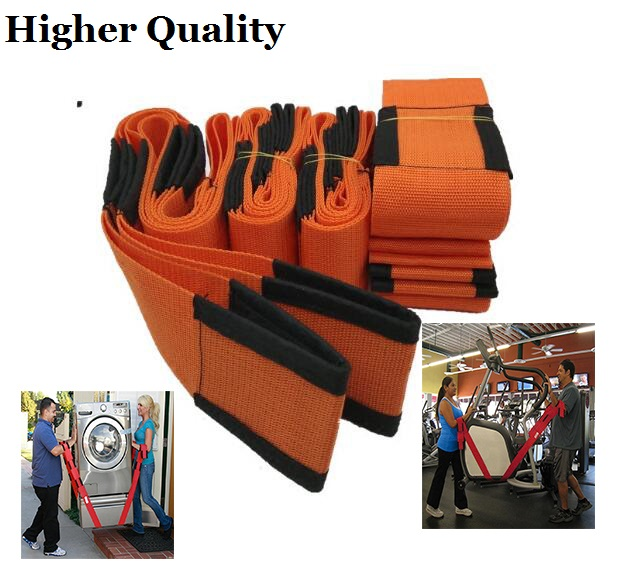 Newest  Furniture Wrist Straps Carry Rope Forearm Forklift Lifting Moving Strap Heavy Transport Belt For Lifting Bulky Items