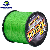 500M 8X MODERN FISHING Brand Super Strong Japan Multifilament PE Braided Fishing Line 8 Strands