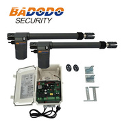 Free shipping 220VAC Electric Linear Actuator 400kgs Engine Motor System Automatic Swing Gate Opener + 4remote control