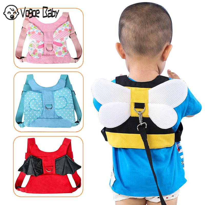 1.5M Baby Safety Harness Anti Lost Walk Belt Children Leashes Kid Walking Handle Child Outdoor Play Wristband Baby Walker Safety