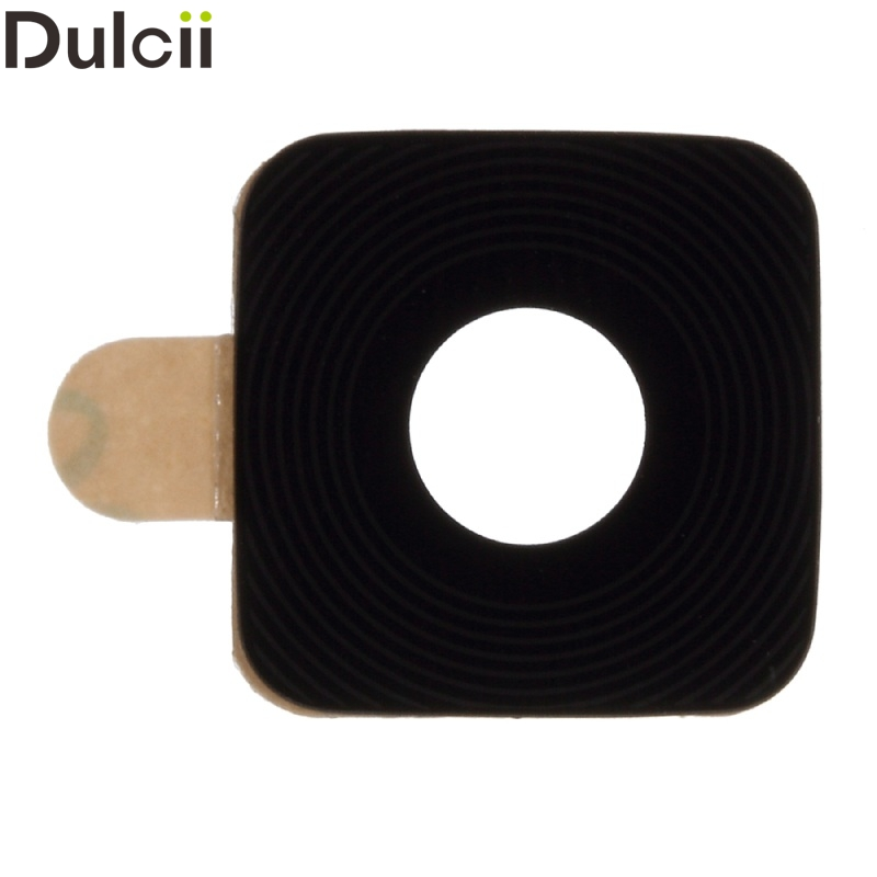 Dulcii Mobile Phone Parts for Galaxy Note 4 N 910 OEM Rear Camera Glass Lens for Samsung Galaxy Note 4 N910 (Glass Only)